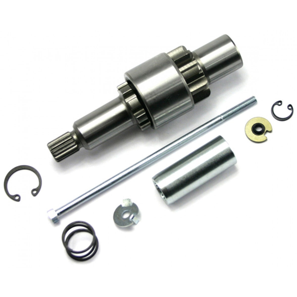 Spyke 465046 - Jackshaft Assembly with 9 Tooth Gear for 89-93 Big Twin Harley® Models
