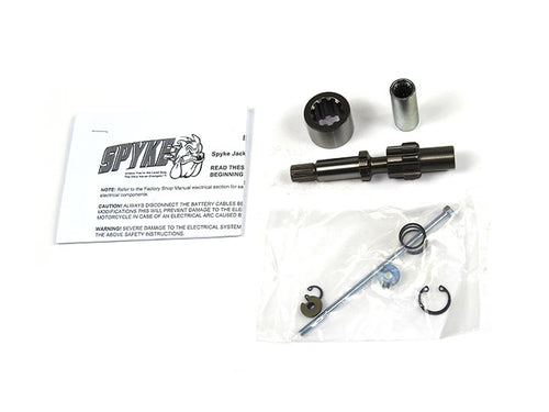 Spyke 465047 - Jackshaft Assembly with 10 Tooth Gear for 94-06 Big Twin Harley® Models (Except 2006 Dyna)