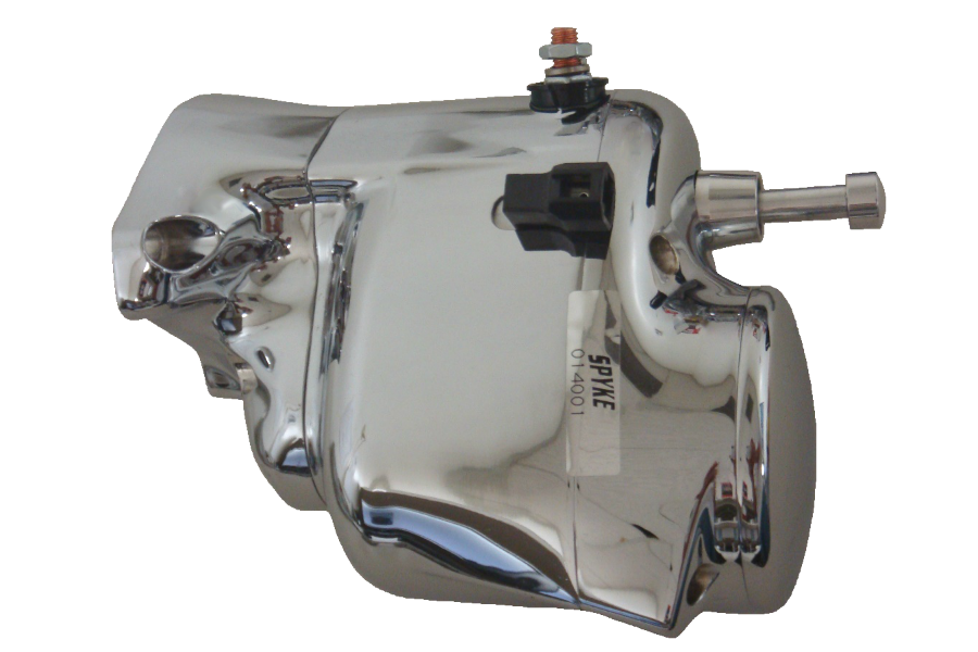 Spyke 484159 - Polished Stealth Starter with Push Button & K9 Drive for 94-06 Big Twin Harley® Models (Except 2006 Dyna)