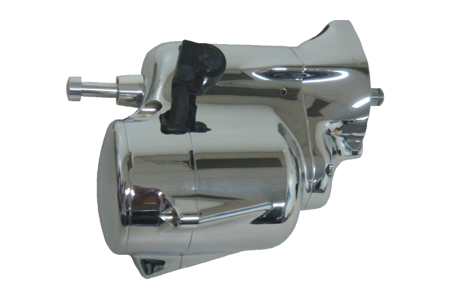 Spyke 480255 - Chrome Stealth Starter with Push Button for 89-93 Big Twin Harley® Models (Except FLT)