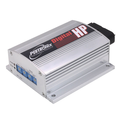 Digital HP Ignition Box Silver Anodized Finish