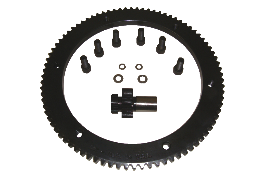 Compu-Fire 54002 - 10/84 8620 Hardened Steel Gear Set for 94-97 Big Twin Harley® Models