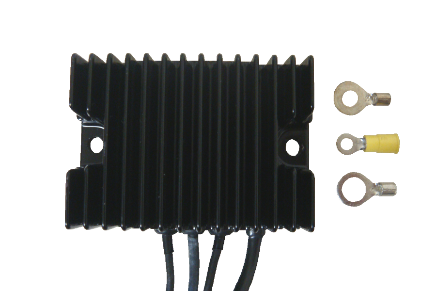 Compu-Fire 55125 - Black 22 Amp Voltage Regulator for 91-99 Sportster® Models