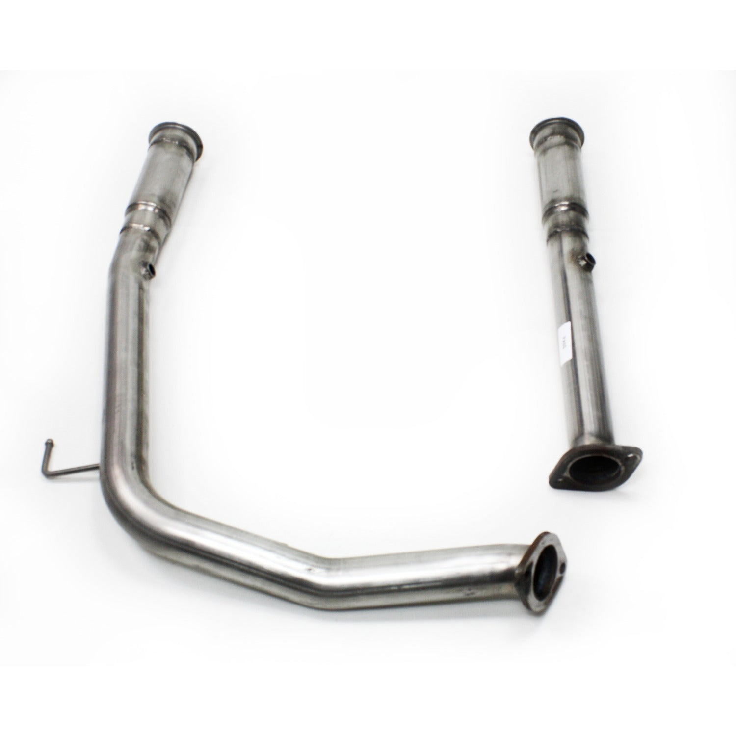 "JBA Performance Exhaust 6012SD 2007-09 5.7L Toyota Tundra 2007-09 5.7L Toyota Tundra 3"" to 2.5"" 409 Stainless Steel Mid-pipes for Use With 6012 series Long Tube Header"