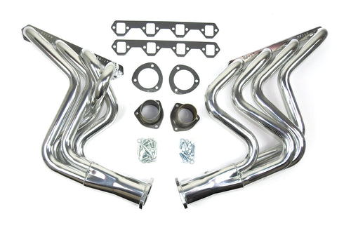 "JBA Performance Exhaust 6614SJS 1 5/8"" Header Long Tube Stainless Steel 80-96 Ford F-150 2/4WD 5.0L Silver Ceramic finish"