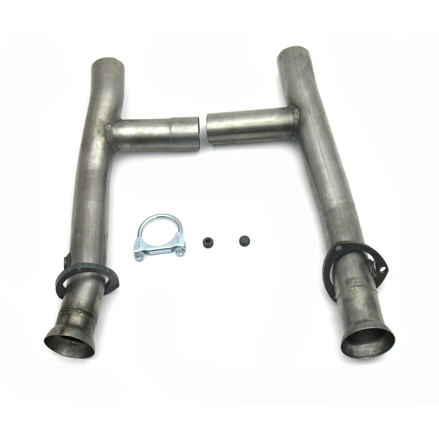 "JBA Performance Exhaust 6654SH 2.5"" Stainless Steel Mid-Pipe H-Pipe for 6654, 390/427"