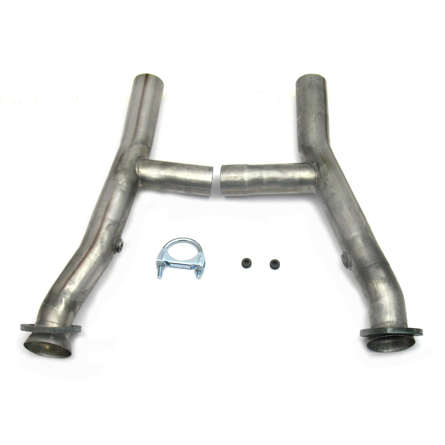 "JBA Performance Exhaust 6655SH 2.5"" Stainless Steel Mid-Pipe H-Pipe for 6655 and 6656, 390/427"