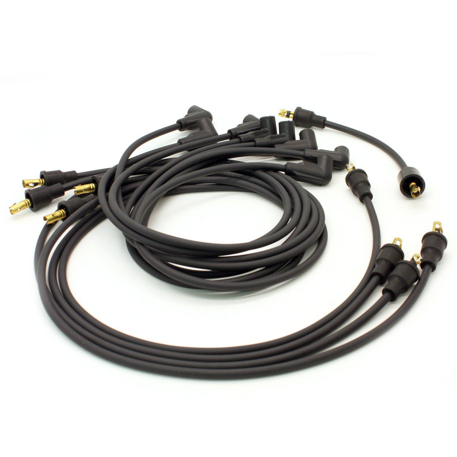 PerTronix 708101 Flame-Thrower Spark Plug Wires 8 cyl GM Custom Fit Black