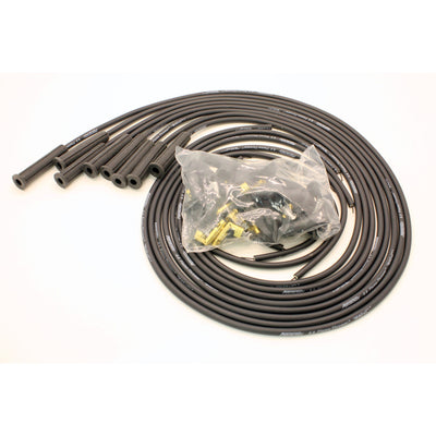 PerTronix 808280 Flame-Thrower Spark Plug Wires 8 cyl 8mm Universal 180 Degree Black