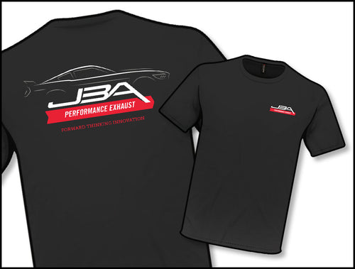 JBA PERFORMANCE EXHAUST TS602 Black Profile T-Shirt