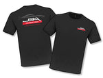 JBA PERFORMANCE EXHAUST TS601 Black Profile T-Shirt