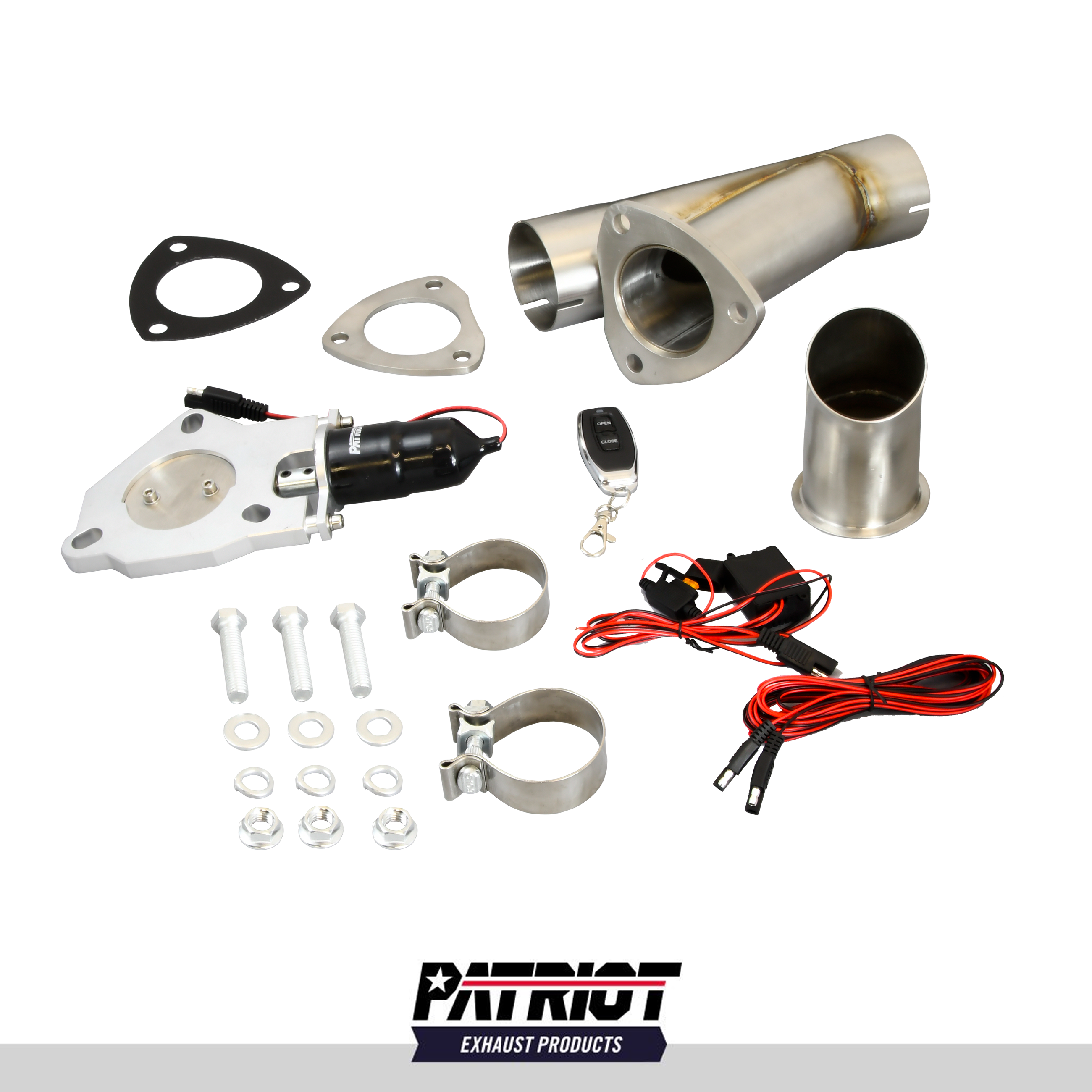 "Patriot Exhaust PEC250K-1 Electronic Cutouts 2.5"" Single System"