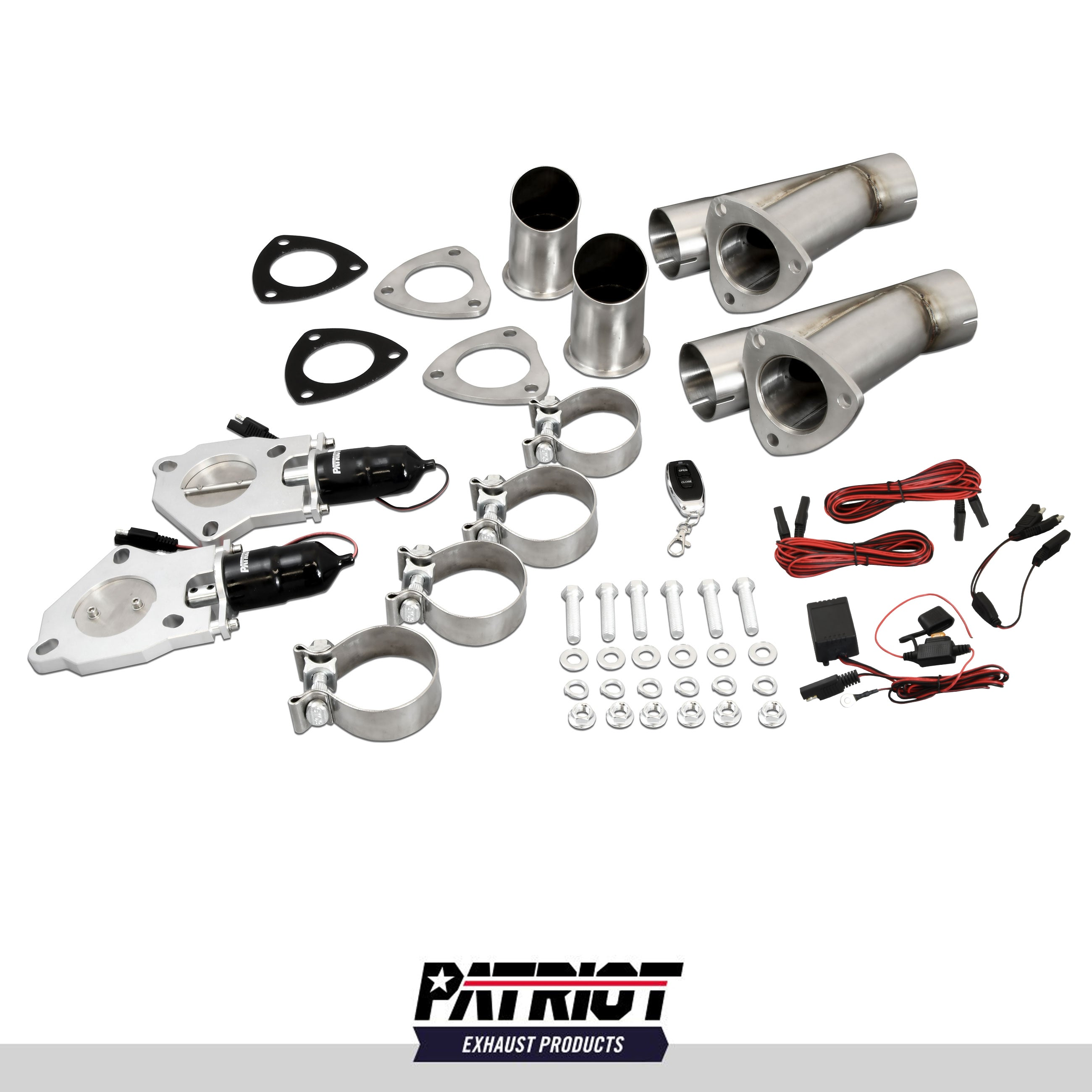"Patriot Exhaust PEC250K Electronic Cutouts 2.5"" Dual System"