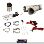"Patriot Exhaust PEC300K-1 Electronic Cutouts 3.0"" Single System"