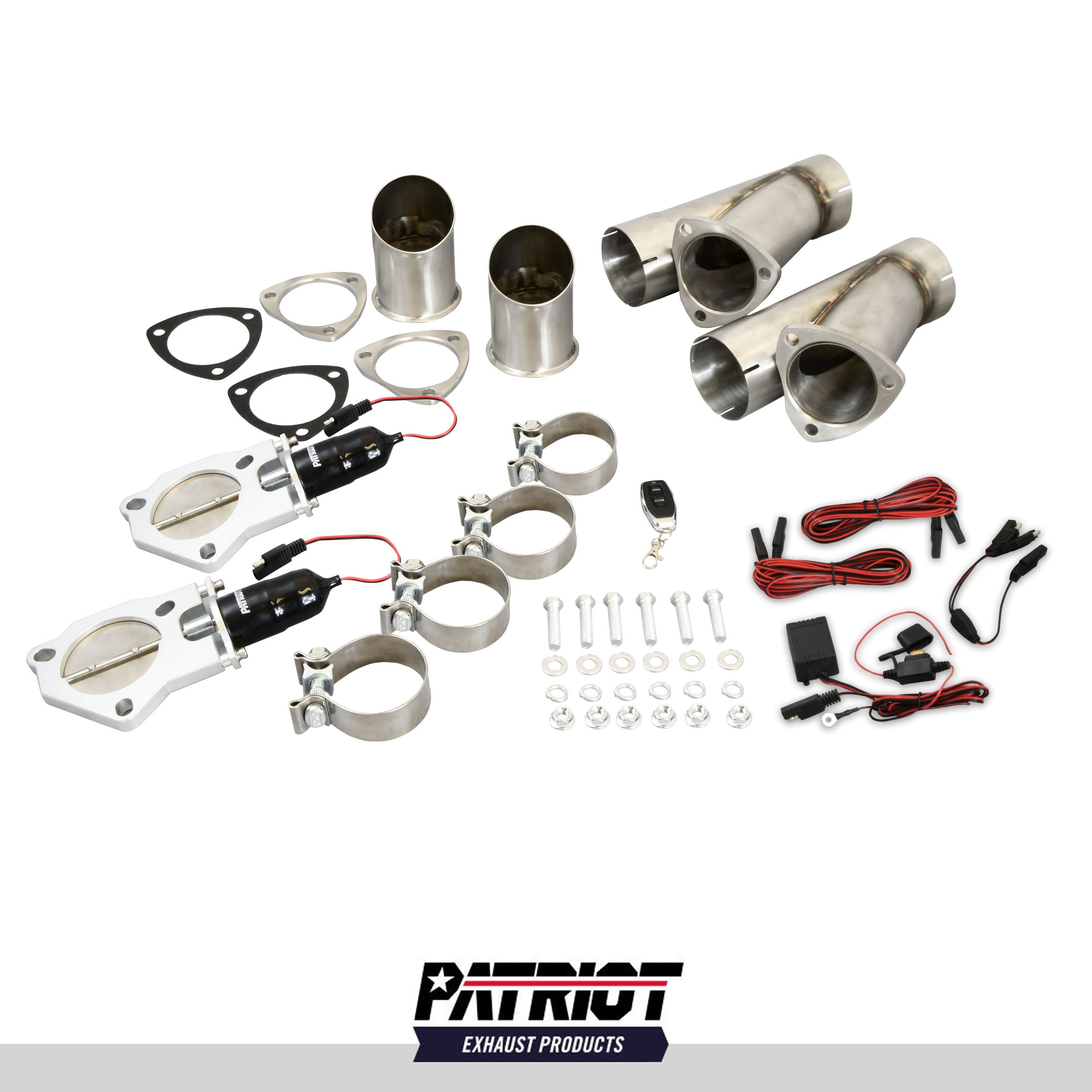 "Patriot Exhaust PEC300K Electronic Cutouts 3.0"" Dual System"