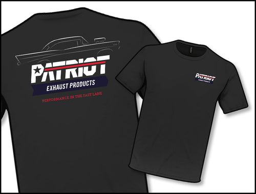 Patriot Exhaust TS804 Black Profile T-Shirt