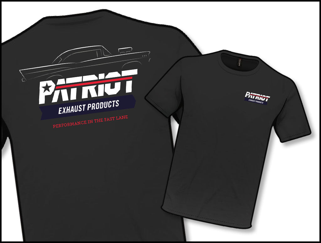 Patriot Exhaust TS802 Black Profile T-Shirt