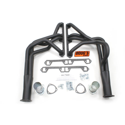 "Doug's Headers D103-B 1 3/4"" 4-Tube Full Length Header AMC Javelin V8 68-79 Hi-Temp Black Coating"