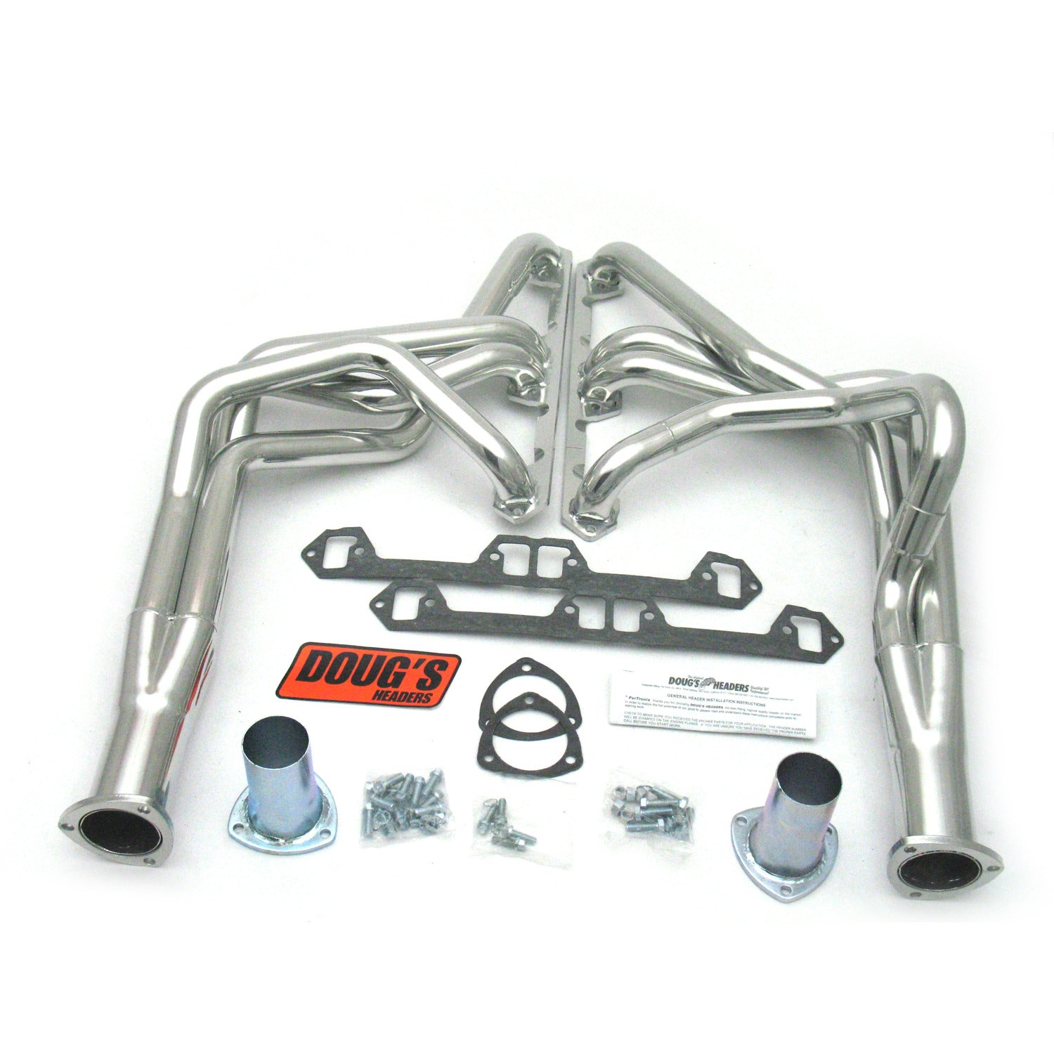"Doug's Headers D103 1 3/4"" 4-Tube Full Length Header AMC Javelin V8 68-79 Metallic Ceramic Coating"