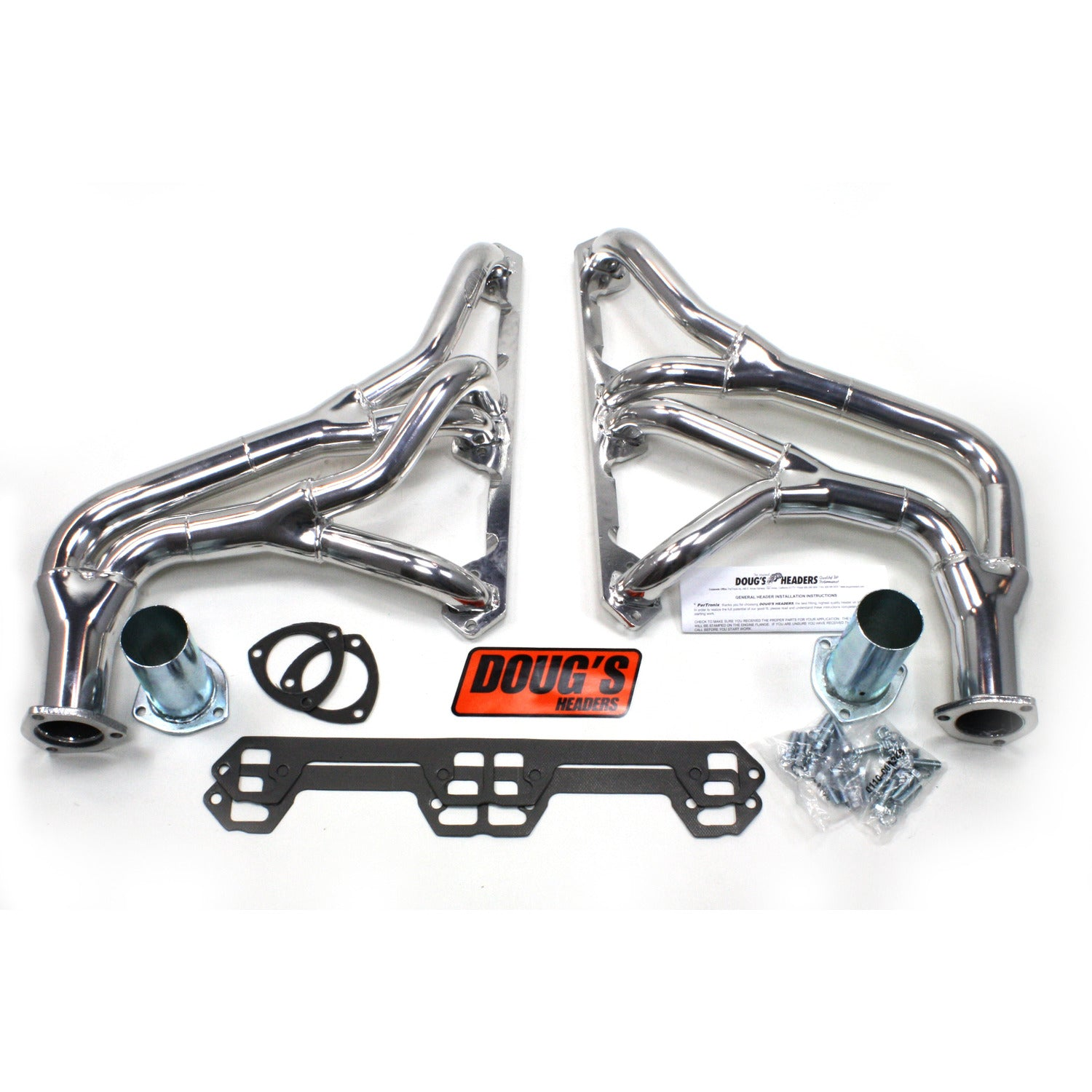 "Doug's Headers D1104Y 1 5/8"" Tri-Y Header AMC Jeep V8 72-81 Metallic Ceramic Coating"