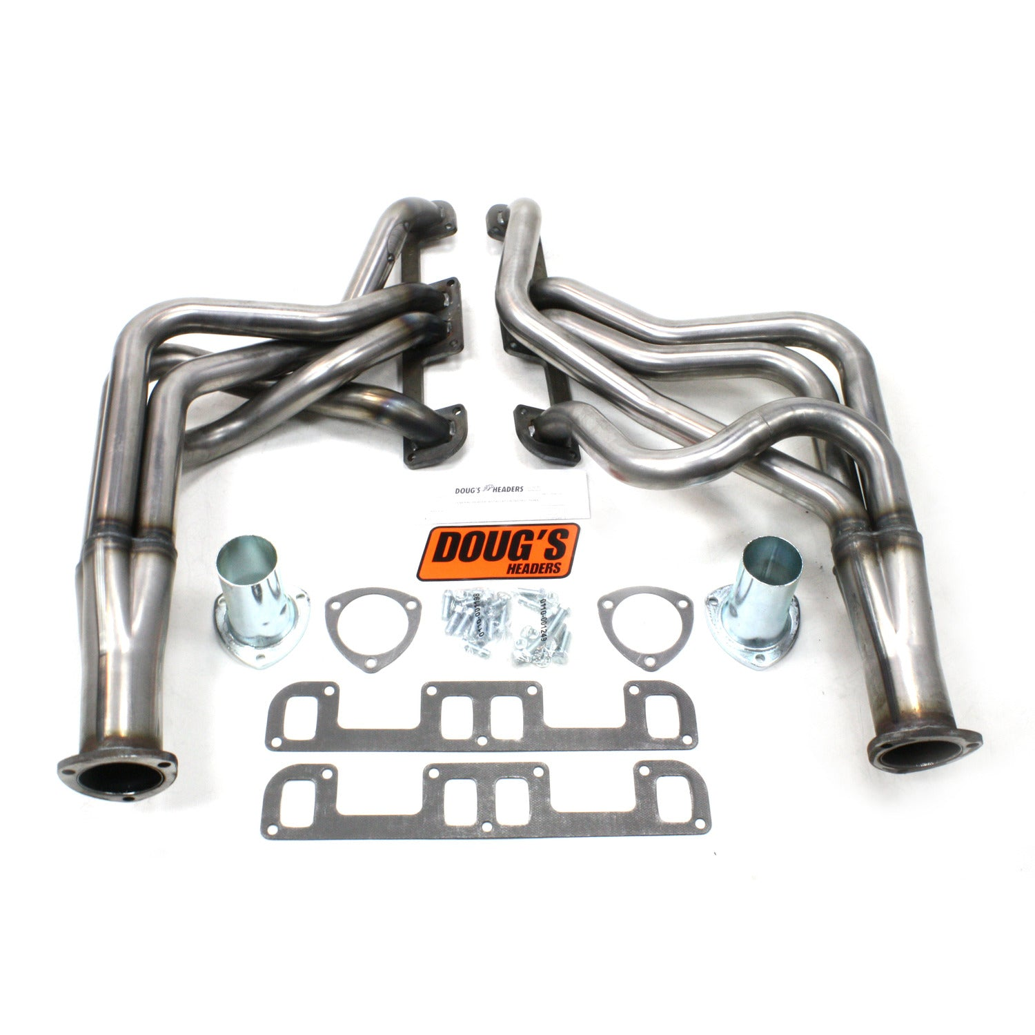 "Doug's Headers D200-R 1 3/4"" 4-Tube Full Length Header Buick Regal 350 68-72 Raw Steel"