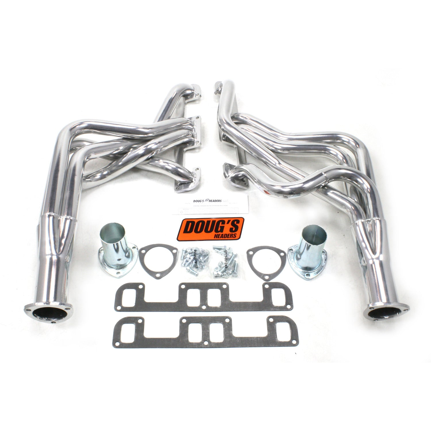 "Doug's Headers D200 1 3/4"" 4-Tube Full Length Header Buick Regal 350 68-72 Metallic Ceramic Coating"