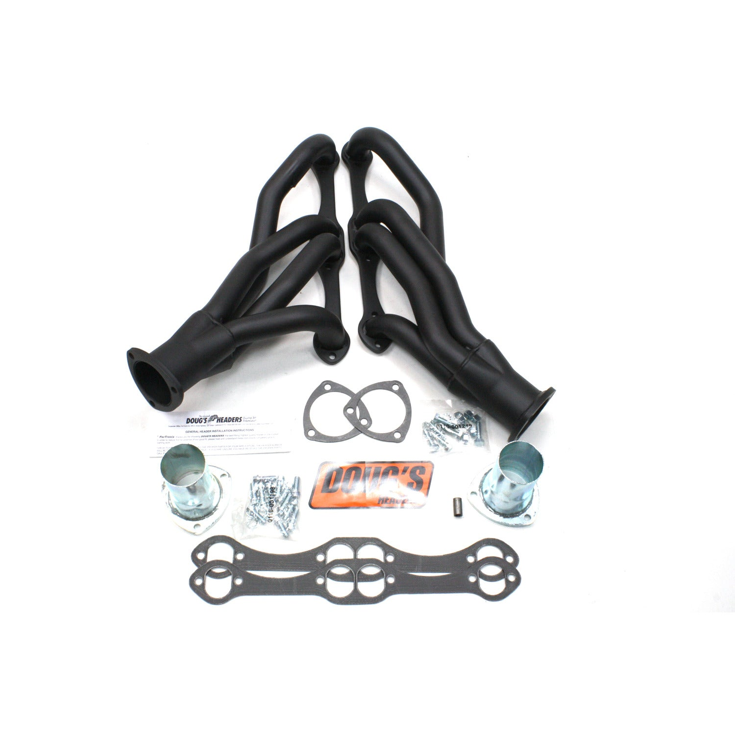 "Doug's Headers D304-B 1 5/8"" 4-Tube Shorty Header"