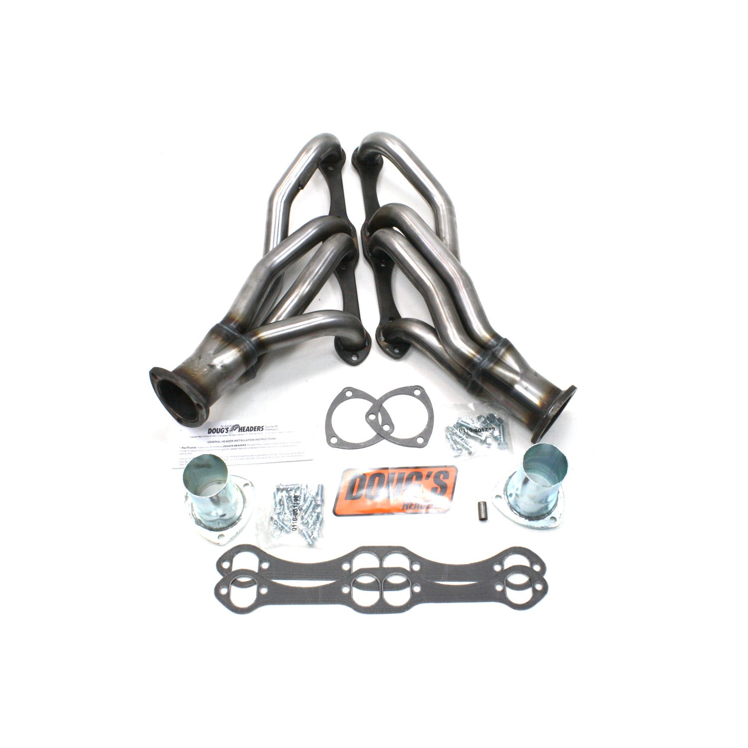 "Doug's Headers D304-R 1 5/8"" 4-Tube Shorty Header"