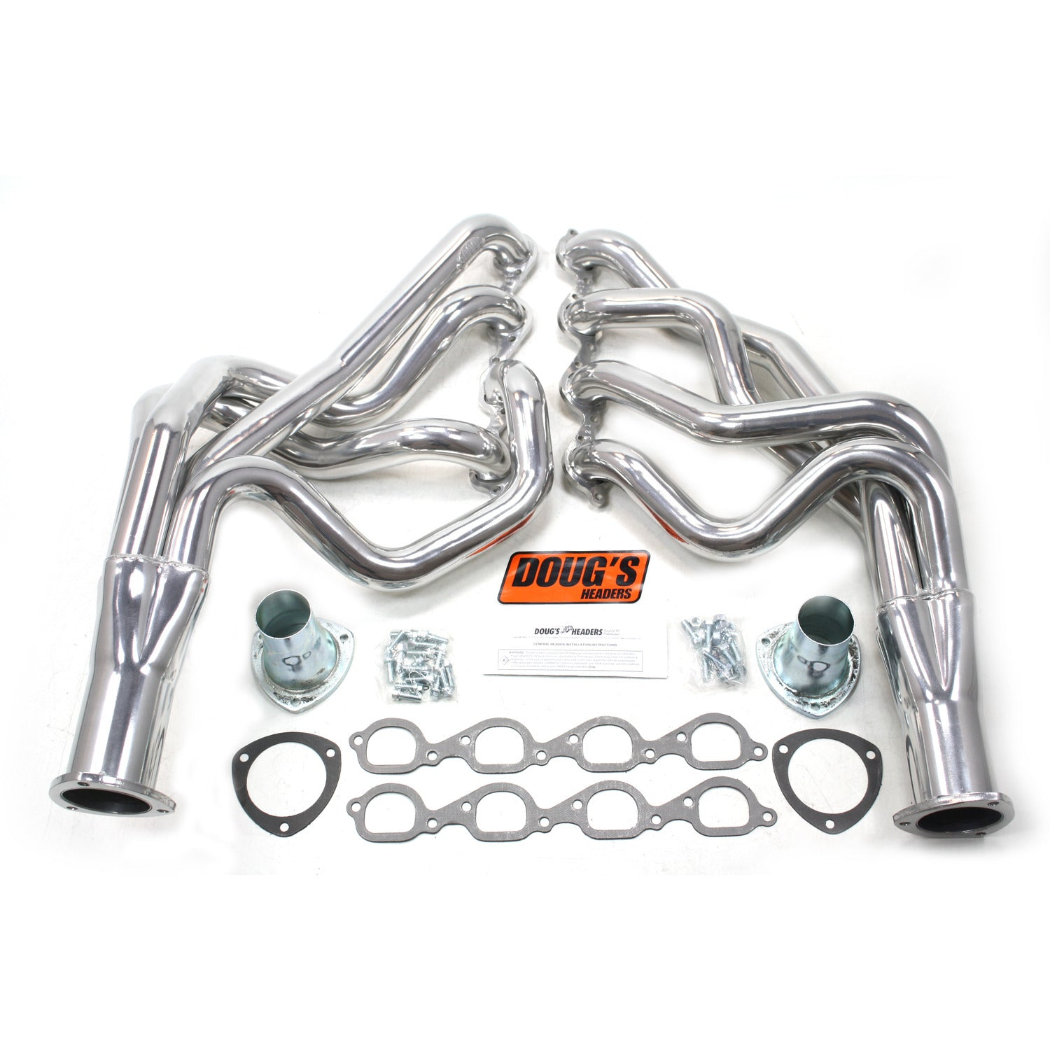 "Doug's Headers D321 2 1/8"" 4-Tube Full Length Header Chevrolet Camaro 572 67-69 Metallic Ceramic Coating"