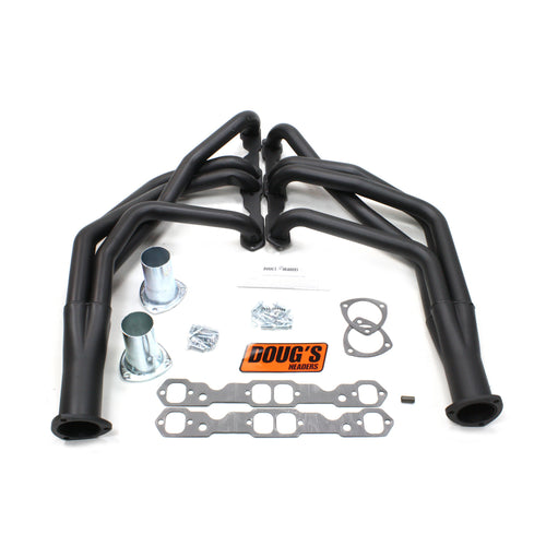 "Doug's Headers D368-B 1 3/4"" 4-Tube Full Length Header Chevrolet Camaro Small Block Chevrolet 67-69 Hi-Temp Black Coating"