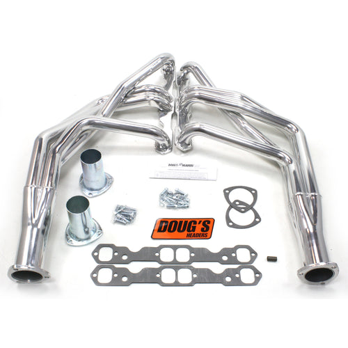 "Doug's Headers D368 1 3/4"" 4-Tube Full Length Header Chevrolet Camaro Small Block Chevrolet 67-69 Metallic Ceramic Coating"