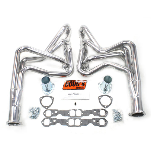 "Doug's Headers D369 1 3/4"" 4-Tube Full Length Header Chevrolet Chevelle Small Block Chevrolet 64-75 Metallic Ceramic Coating"