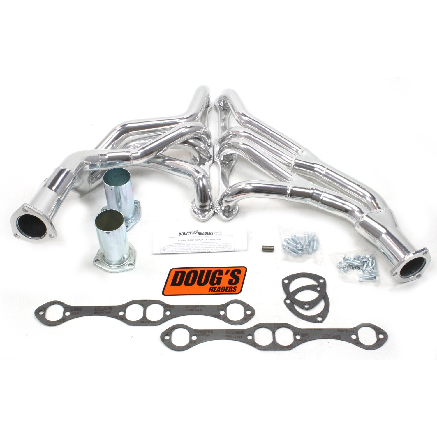 "Doug's Headers D372Y 1 5/8"" Tri-Y Header Chevrolet Truck Small Block Chevrolet 67-72 Metallic Ceramic Coating"