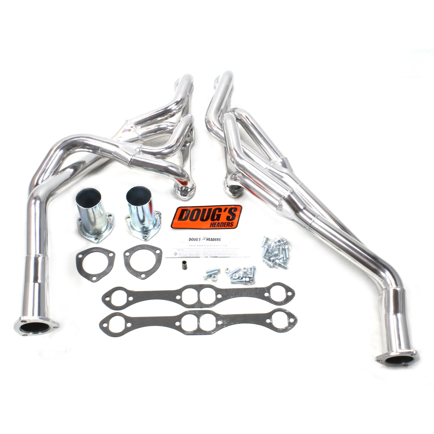 "Doug's Headers D376Y 1 5/8"" Tri-Y Header Chevrolet Chevelle Small Block Chevrolet 64-67 Metallic Ceramic Coating"