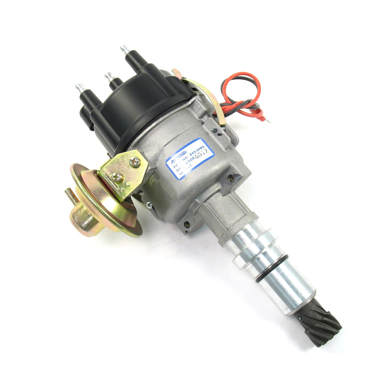 PerTronix D43-04BM Distributor Industrial 4 cyl