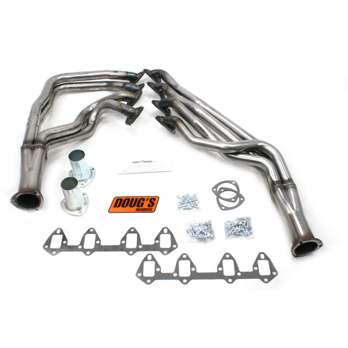 "Doug's Headers D625-R 1 3/4"" 4-Tube Full Length Header Ford Fairlane FE 64-73 Raw Steel"