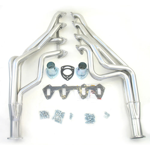"Doug's Headers D626 1 3/4"" 4-Tube Full Length Header Ford Mustang FE 67-70 Metallic Ceramic Coating"