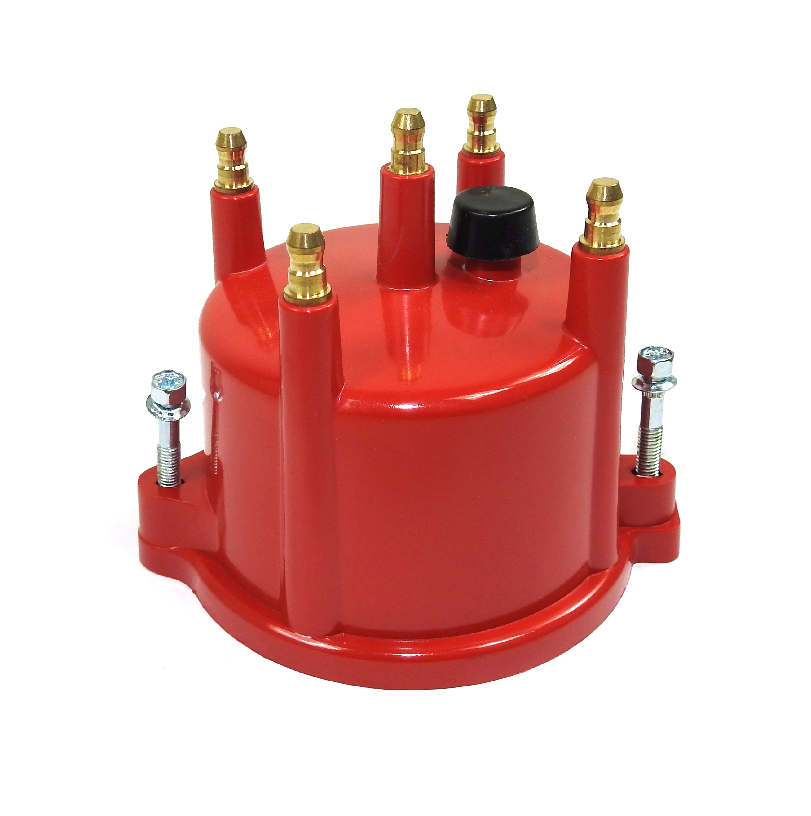 Pertronix D654711 Cap 4 cyl Billet red VW Male