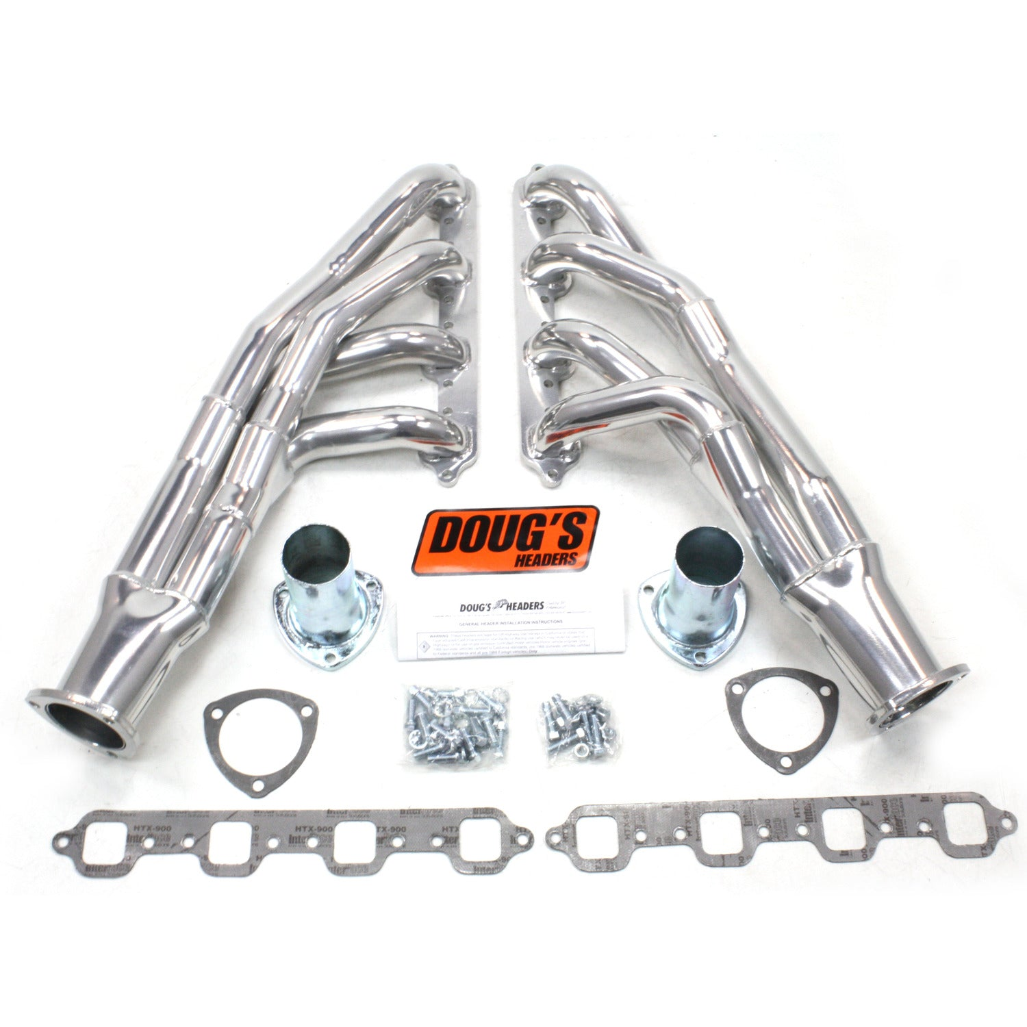 "Doug's Headers D669Y-1 1 3/4"" Tri-Y Header Ford Mustang 351W 67-70 Metallic Ceramic Coating"