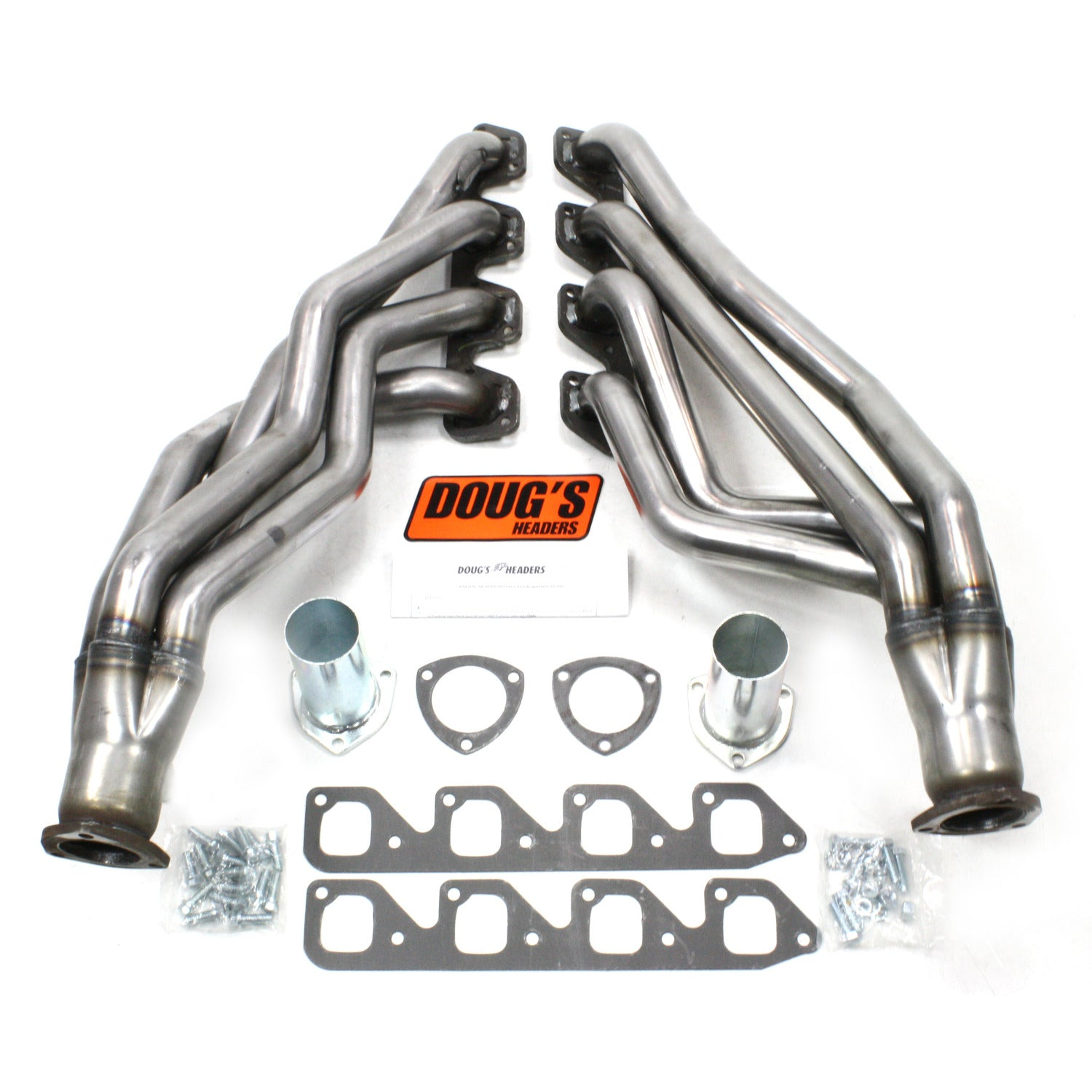 "Doug's Headers D670A4-R 1 3/4"" 4-Tube Full Length Header Ford Mustang 351C 67-70 Raw Steel"