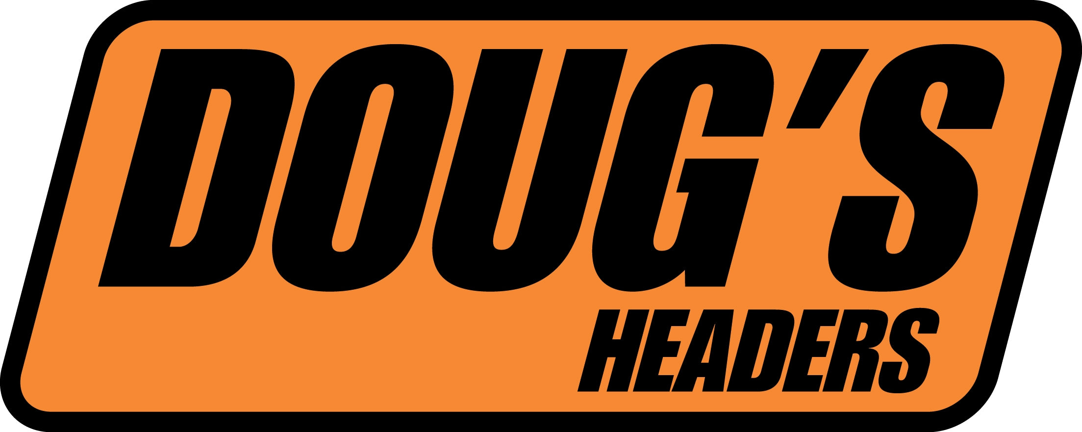 Doug's Headers DD200 Sticker Doug's Headers Large 8 x 3