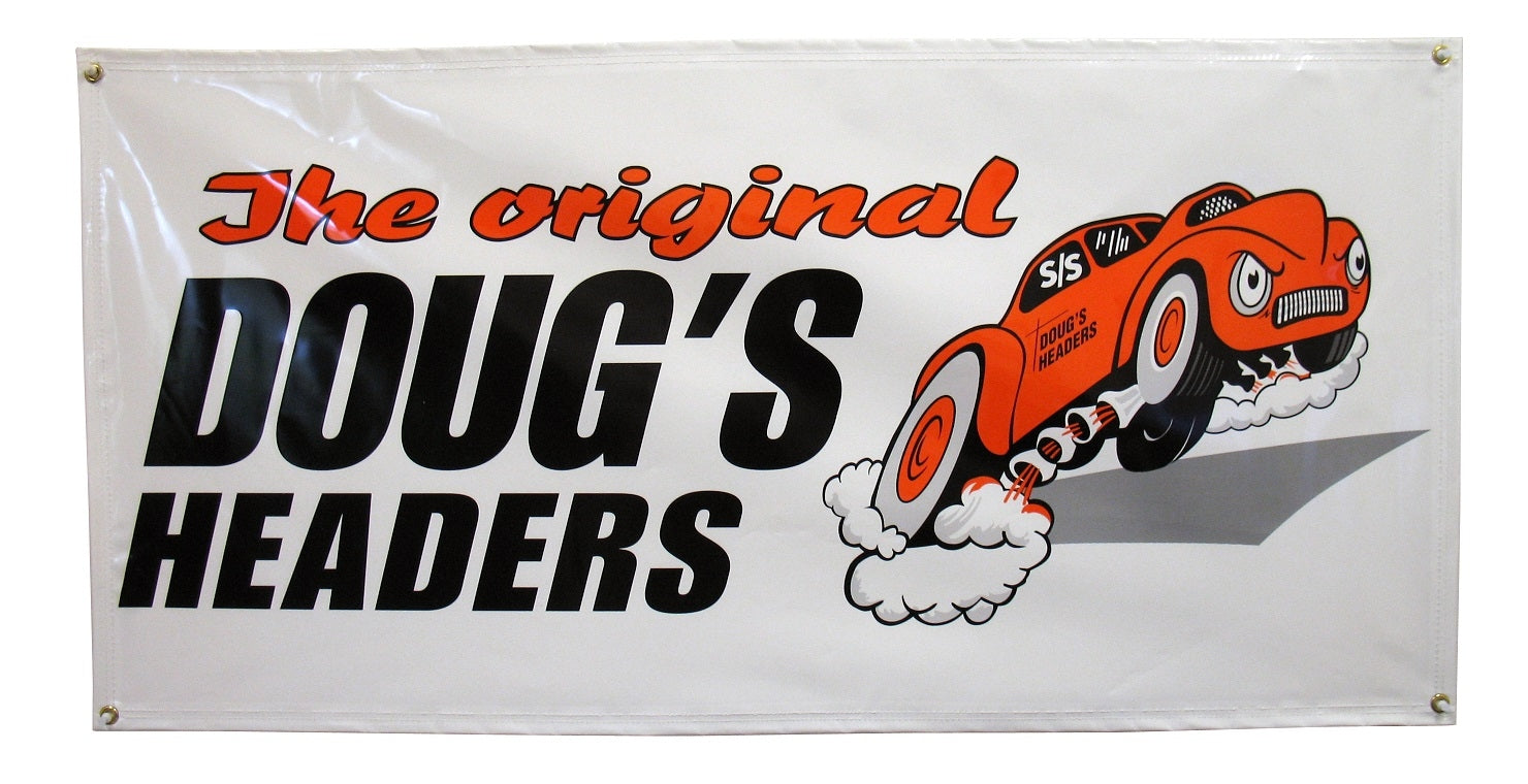 Doug's Headers DHB100 Banner Doug's Headers 2 x 4
