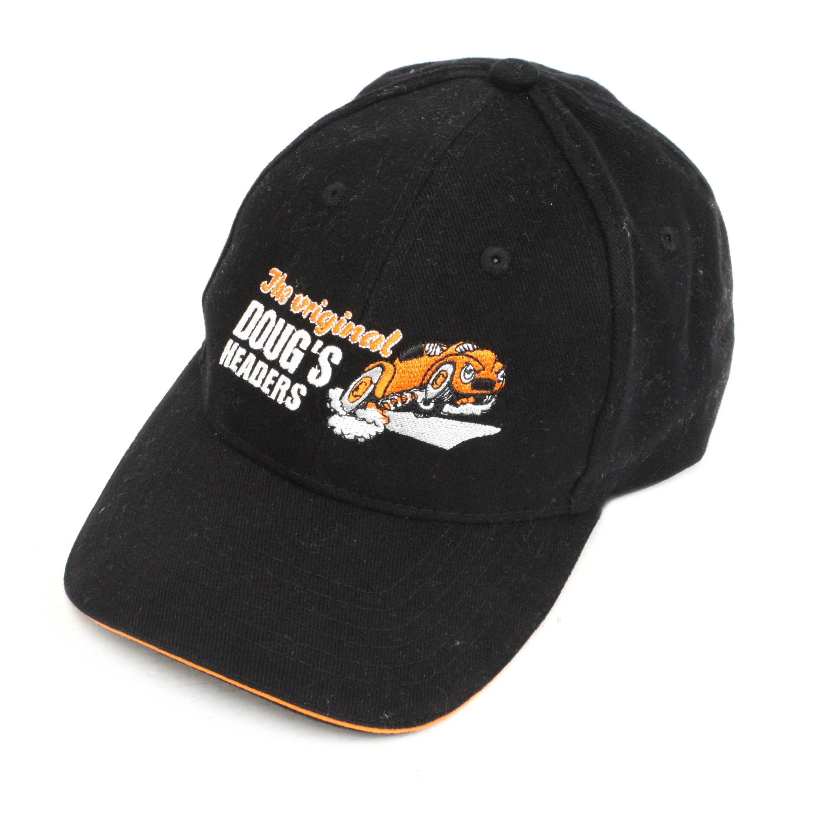 Doug's Headers DHH100 Doug's Logo Cap Black