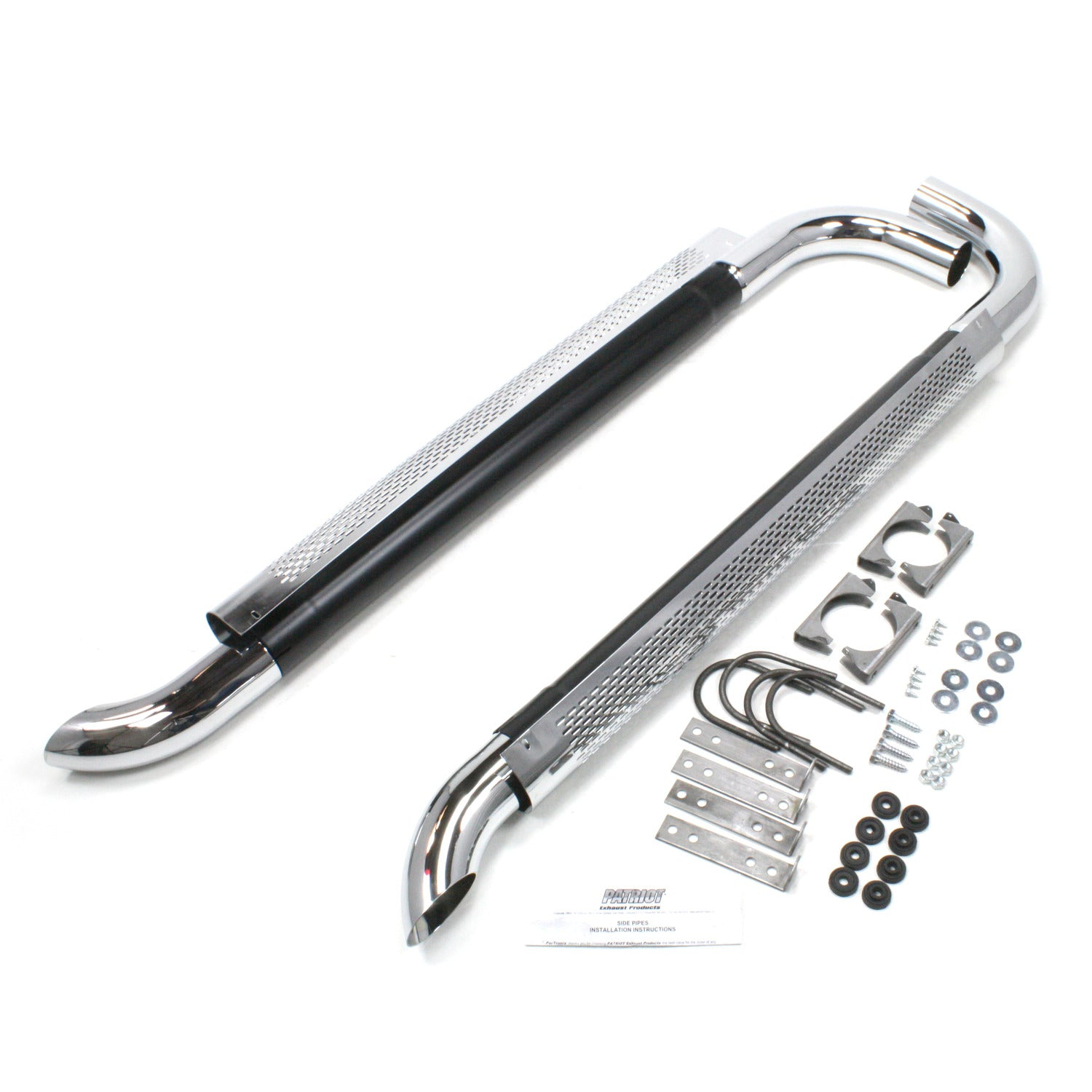"Patriot Exhaust H1060 Side Exhaust 60"" Chrome"