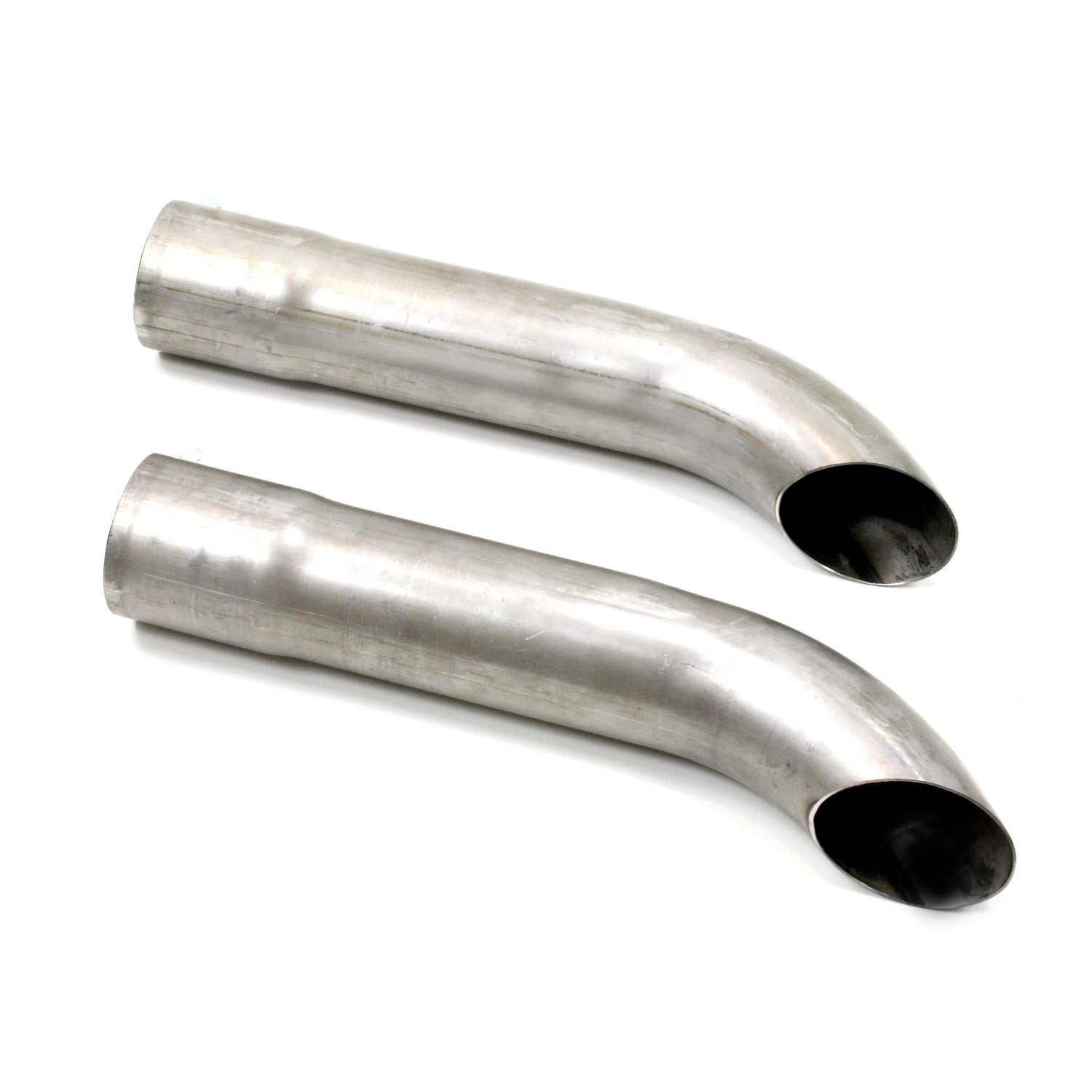 "Patriot Exhaust H3812 Side Tubes 20"" Turnout Muffler Raw Steel"