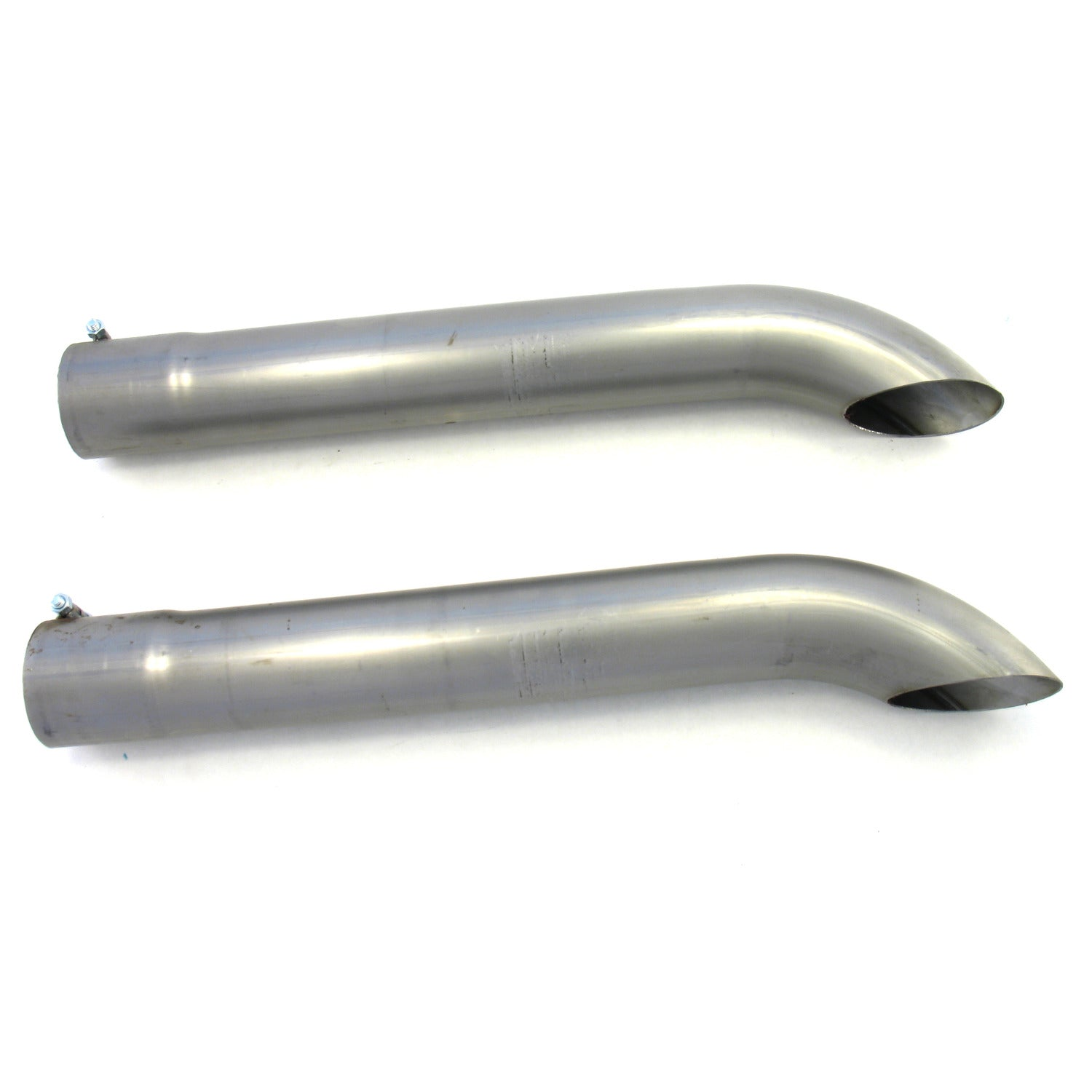 Patriot Exhaust H3814 Exhaust Turnout Inlet/Outlet 3 Inch Length 24 Inch Pair Raw Steel