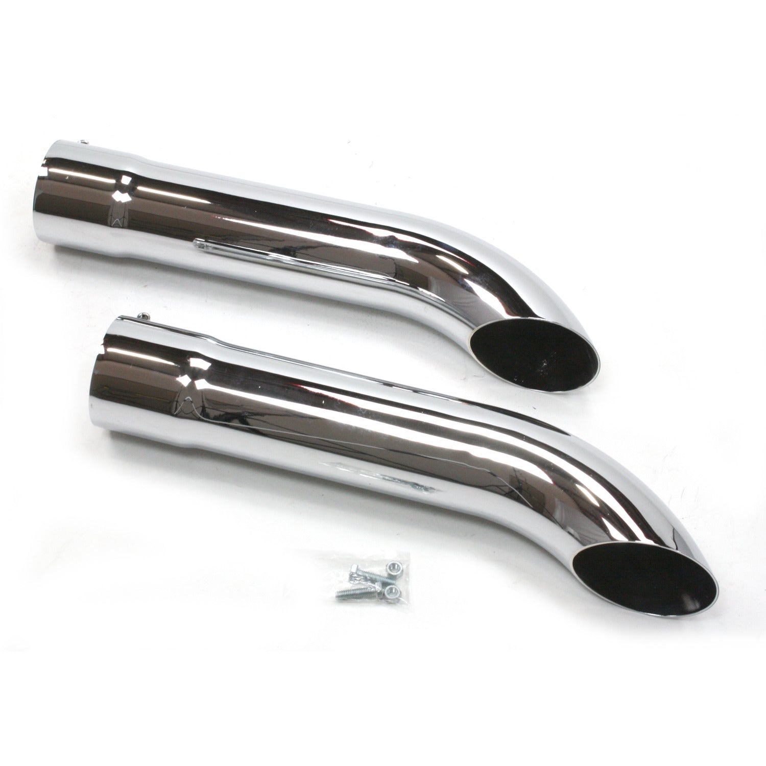 "Patriot Exhaust H3816 Side Tubes Turnout 20"" Chrome"