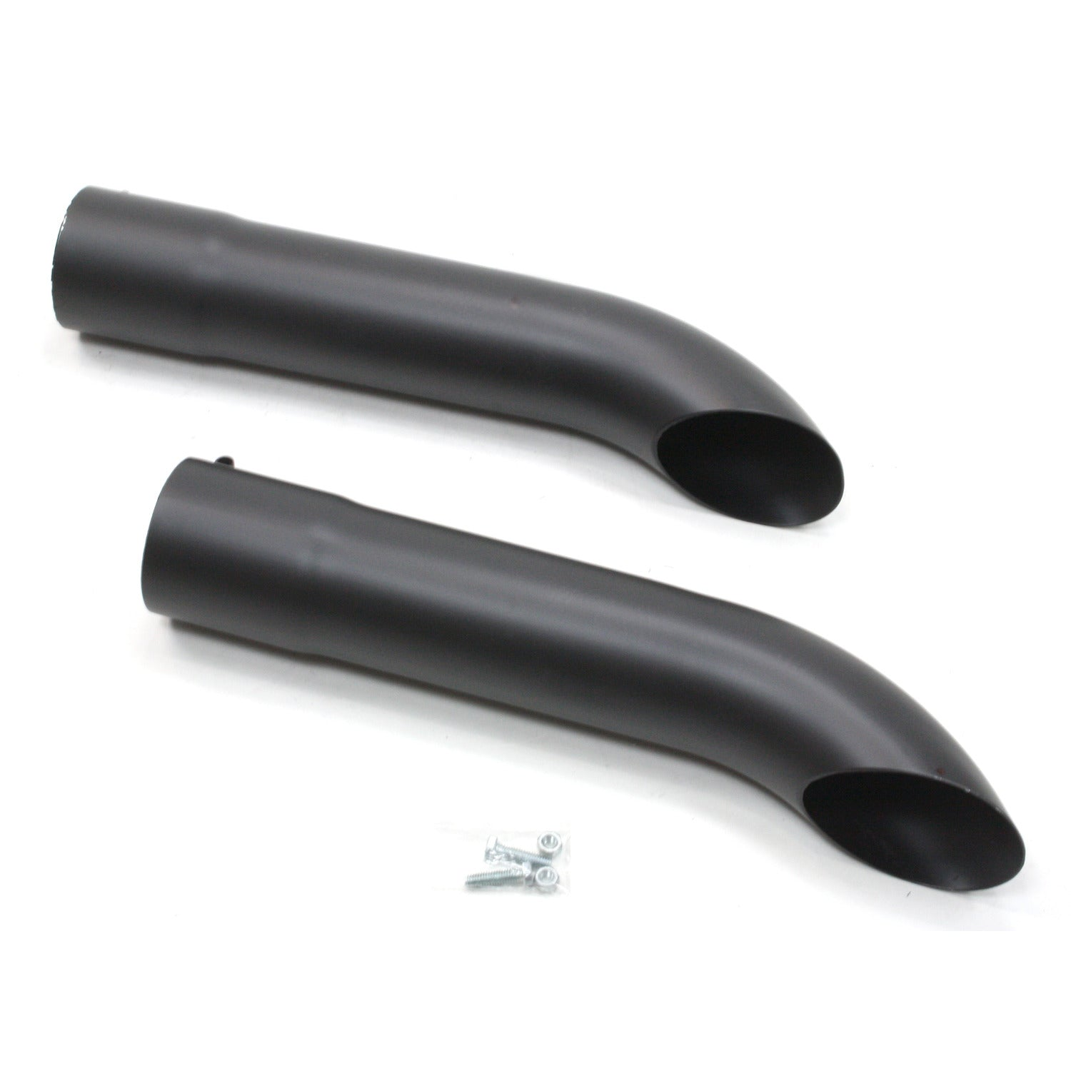 Patriot Exhaust H3817-B Exhaust Turnout Inlet/Outlet 3 1/2 Inch Length 20 Inch Pair Hi-Temp Black Coating
