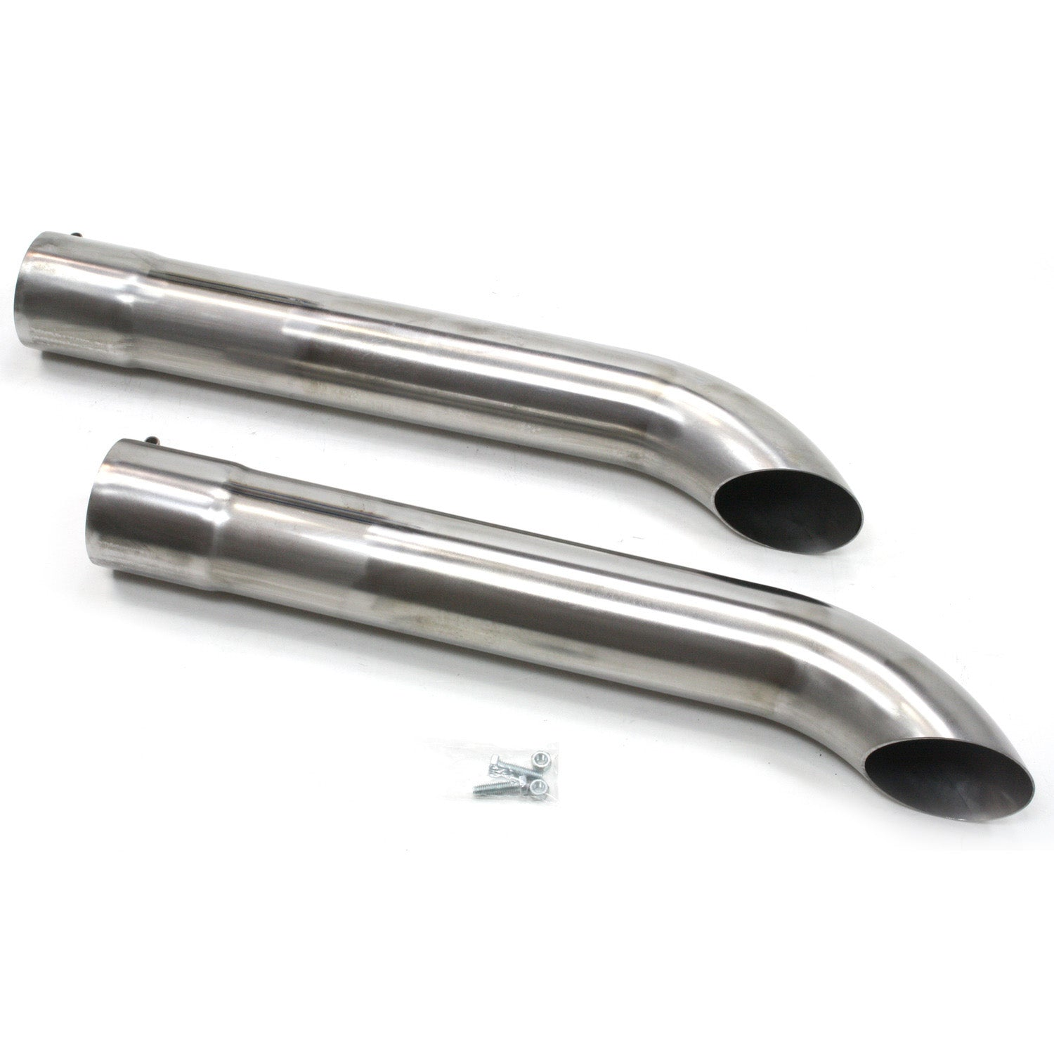 "Patriot Exhaust H3819 Side Tubes26"" Turnout Raw Steel"