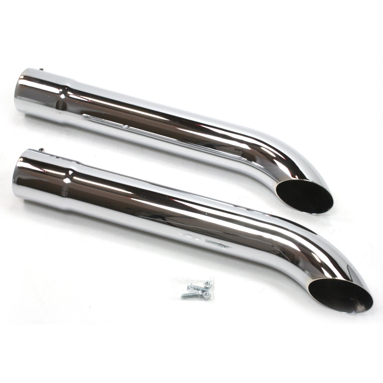 "Patriot Exhaust H3820 Side Tubes26"" Turnout Chrome"